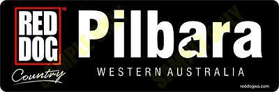 Red Dog Pilbara Bumper Sticker