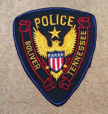 TN Boliver Tennessee Police Patch