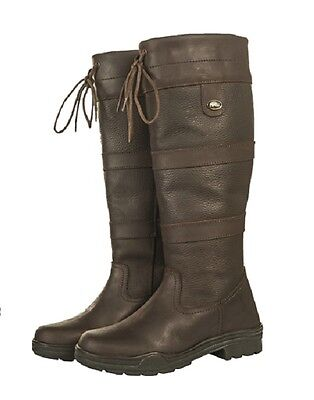 HKM Belmond SPRING | WIDE CALF fit Oiled Leather Country Horse Riding Yard Boots