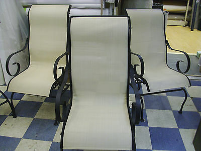 Patio Furniture Replacement Seat Material Beige Mesh By The Yard Do it Yourself!