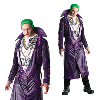 Rubies Mens Official Suicide Squad New The Joker Adults Fancy Dress Costume Kit