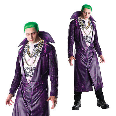 Rubies Mens Official Suicide Squad The Joker Fancy Dress Halloween Costume