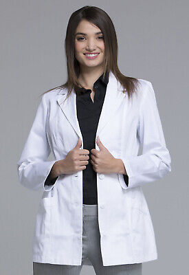 "Scrubs Cherokee Womens 30"" Lab Coat 2316 FREE SHIPPING"