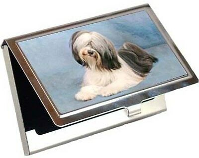 Tibetan Terrier Business Card / Credit Card Case