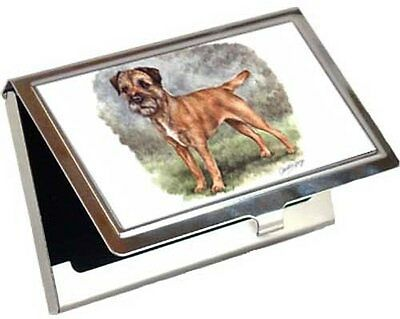Border Terrier Business Card / Credit Card Case