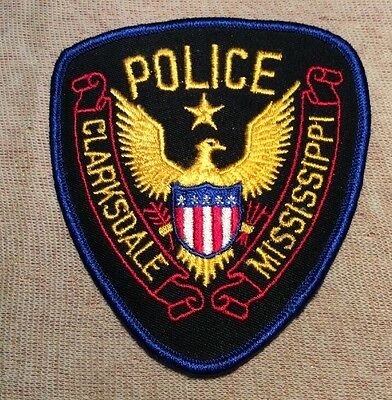 MS Clarksdale Mississippi Police Patch