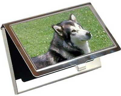 Alaskan Malamute Business Card / Credit Card Case