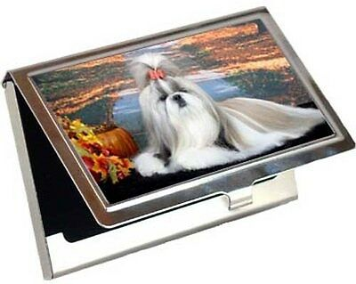 Shih Tzu Business Card / Credit Card Case