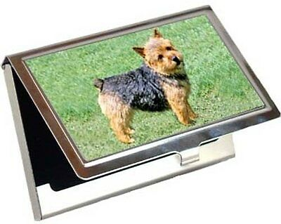 Norwich Terrier Business Card / Credit Card Case