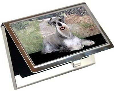 Miniature Schnauzer Business Card / Credit Card Case