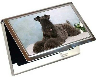 Kerry Blue Terrier Business Card / Credit Card Case