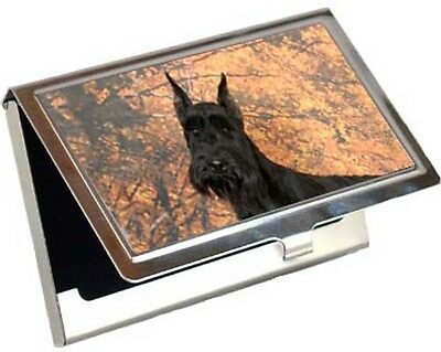 Giant Schnauzer Business Card / Credit Card Case