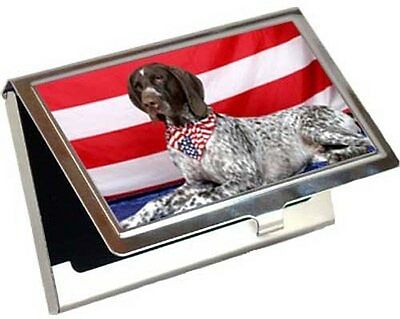 German Shorthair Pointer Business Card / Credit Card Case