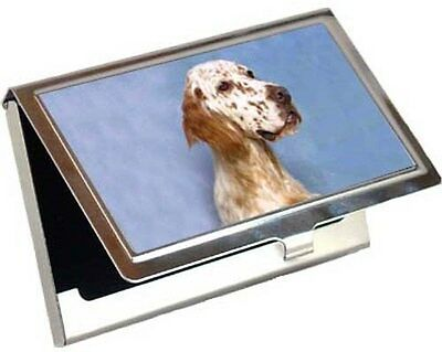 English Setter Business Card / Credit Card Case