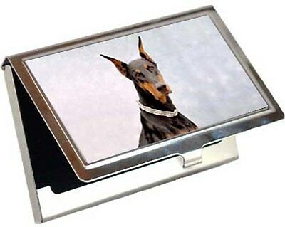 Doberman Pinscher Business Card / Credit Card Case