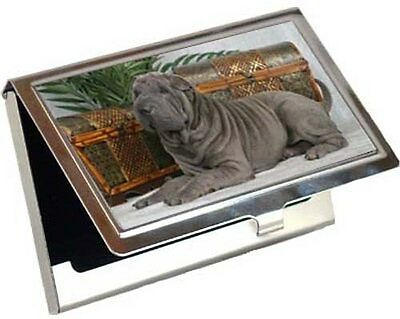 Chinese Shar-Pei Business Card / Credit Card Case