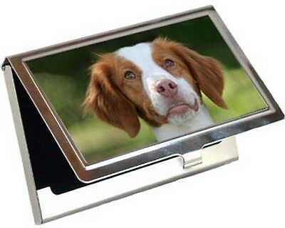 Brittany Spaniel Business Card / Credit Card Case