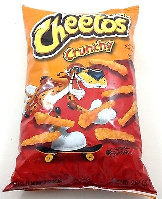 CHEETOS  CRUNCHY CHEESE Flavored Snacks - 8.5 Oz