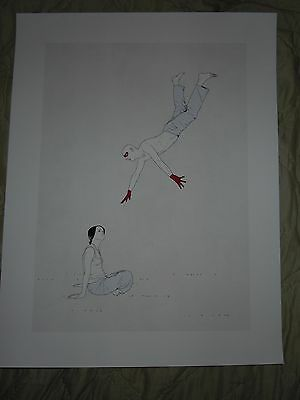 Diving Man Sitting Women - Poster