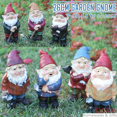 26CM Funny Garden Beach Gnomes - Naugthy Ornament Figurine Indoor Outdoor