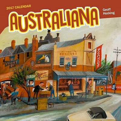 Australiana 2017 Wall Calendar NEW by Browntrout