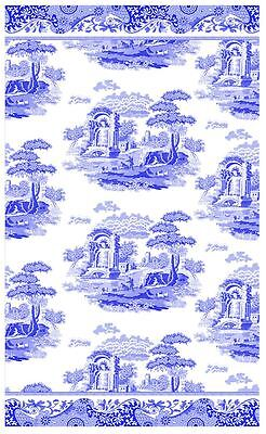 New Pimpernel/Spode Blue Italian single tea towel