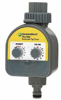 Garden Mate 2 Dial Automatic Tap Timer Battery Operated Watering