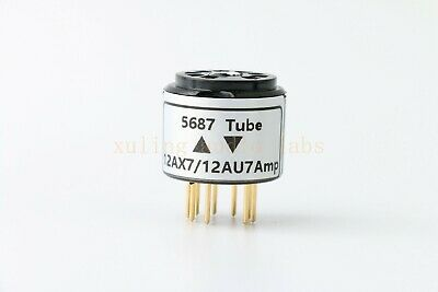 1pc 12AX7 12AU7 TO 12SN7 12SL7 tube converter adapter for you amp