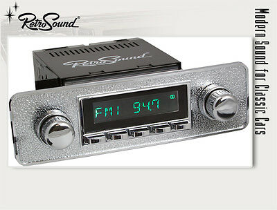 JAGUAR 1961-75; RetroSound Oldtimer Youngtimer Car Stereo Radio with USB + MP3