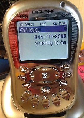 Blow Out Sale Xm Delphi Myfi Xm2Go 1 Receiver Only  Ships Same Day!