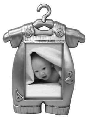 Malden Baby Pewter Juvenile Picture Frame, Boy's Outfit