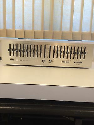 BSR EQ-110X Stereo Frequency Equalizer with Owner's Manual and Free Shipping
