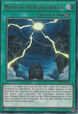 YU-GI-OH ULTRA RARE CARD: MOUND OF THE BOUND CREATOR - DRL3-EN053 - 1st EDITION