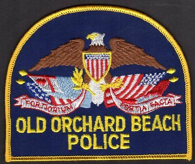 Old Orchard Beach Maine Police Shoulder Patch