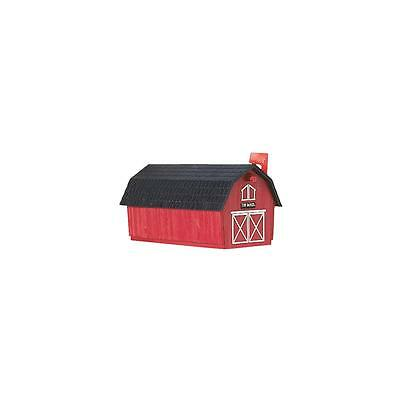 Flambeau Red Barn Poly Mailbox