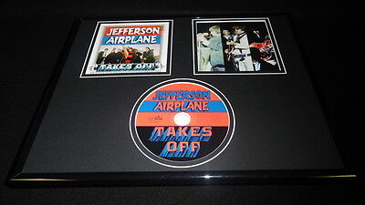 Jefferson Airplane Takes Off Framed 11x14 CD & Photo Display