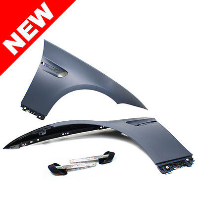 07-13 BMW E92/E93 3-Series 2DR M3 Style Front Fenders w/ LED Side Markers