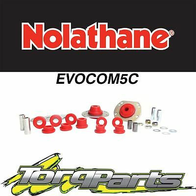 Nolathane Front Bush Kit Control Arm Radius Rod Suit Vt Vx Vy Commodore Evocom5C