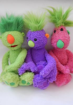 The Hoobs Iver, Groove And Tula Soft Talking Toy Bundle Jim Henson Company Ltd.