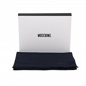Foulard Sciarpa Moschino - Made in Italy - Navy