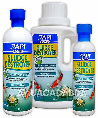 Api Sludge Destroyer Algae Remover Natural Bacteria Treatment Pond Fish Water