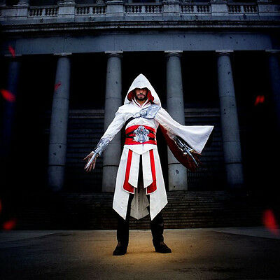 Ezio Auditore da Firenze Assassins Creed Discovery Brotherhood Cosplay Costume