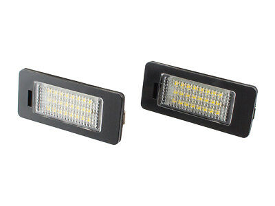 Number License Plate Light Lamp 2X Led For Skoda Octavia Iii Mk3 12- Rapid 12-