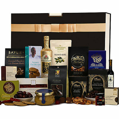The Hamper Emporium – Ultimate Foodies Hamper with Keepsake Gift Box Olive Oil