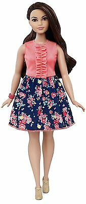 Barbie Fashionistas Doll 26 Spring Into Style - Curvy - DMF28 - New