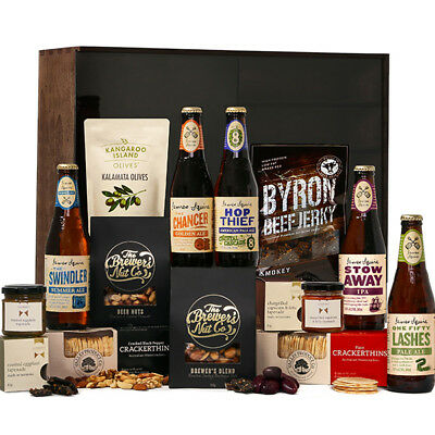 The Hamper Emporium – James Squire Ale Hamper Keepsake Gift Box Beer Beef Jerk