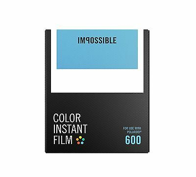 Impossible Project Polaroid 600 and Instant Lab Film, Color