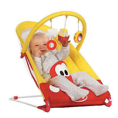 New Little Tikes Red Yellow Cozy Coupe Bouncer With Toy Bar Suitable From Birth