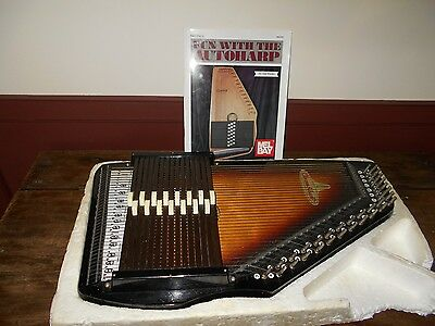 Vintage Chrom-A-Harp By Rhythm Band, Inc Rbi Plus Book