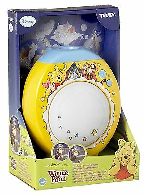 Winnie the Pooh Lullaby Dreams Lightshow Baby Cot Projector Tomy